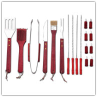 Chefmaster 20-Piece Barbeque Tool Set