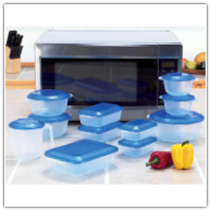 LaCuisine™ 22-Piece Microwave Container Cookware Set