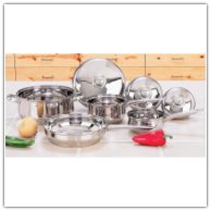 Yorkville™ 7-Piece Stainless Steel Cookware Set