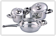 Mert 5-Piece Stainless Steel Cookware Set