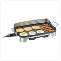Hamilton Beach Premiere Cookware Electric Griddle