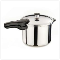 Presto 6-Quart Stainless Steel Pressure Cooker