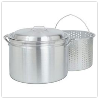 Barbour Bayou Classic 24-Quart Aluminum Stockpot/Fryer/Steamer