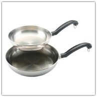 Farberware Classic Stainless Steel Skillet Twin Pack