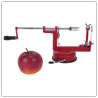 Maxam® Apple Peeler/Corer/Slicer with Suction Base