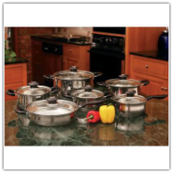 Wyndham House 12-Piece Stainless Cookware Set