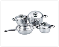Mert 7-Piece Stainless Steel Cookware Set