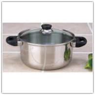 Chef's Secret® 6-Qt Stainless Steel Stock Pot Set