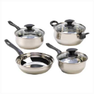 7-Piece Stainless Steel Assorted Cookware Set