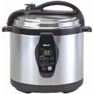 Nesco 6-Quart Stainless Steel Pressure/ Slow Cooker and Steamer
