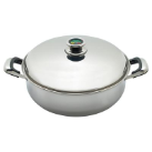 Chef's Secret® Thermo Control 12-Element Stainless Deep Skillet