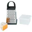 Chef Secret® Jumbo 4-Sided Stainless Steel Grater Set