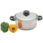 Precise Heat™ 5.5-Quart 12-Element Stainless Steel Stockpot