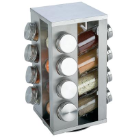 Chef Secret® 16 Jar Stainless Steel Rotating Spice Rack
