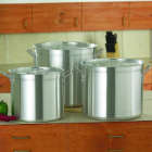 Chef's Secret® 6-Piece Aluminum Stock Pot Cookware Set