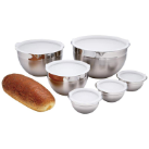 Chef's Secret® 12-Piece Stainless Steel Mixing Bowl Set