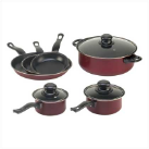 Carbon Steel 9-Piece Cookware Set