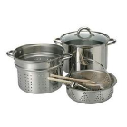 Ragalta 8-Piece Stainless Steel Pasta Pot Set