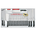 Maxam® 20-Piece Cutlery Super Set with Stainless Blades