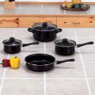 Chef Secret® 7-Piece Steel Nonstick Cookware Set