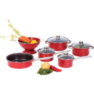 Chef's Secret 10-Piece Steel Non-Stick Cookware Set